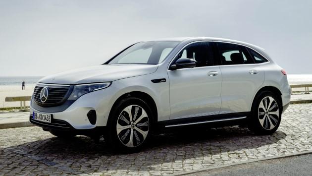 Mercedes-EQC-400-4matic-elektroauto-test-vorne-weiß