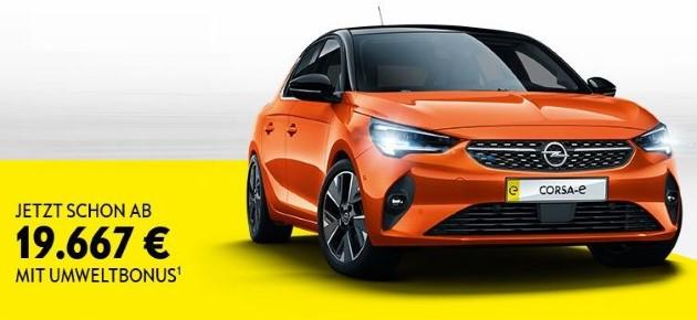 Opel Corsa-e Green Deal