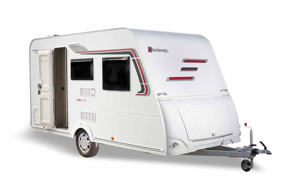 Wohnwagen für E-Auto Sterckeman Easy-390CP-EXT