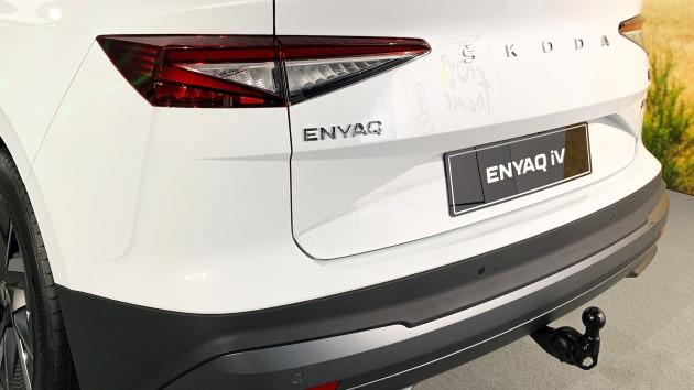 Škoda Enyaq iV Anhängerkupplung ahk anhänger wohnwagen