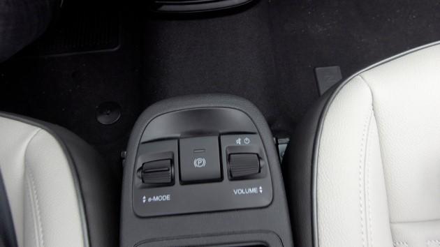 Fiat 500 Elektro La Prima Schaltstufen Parkbremse