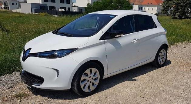 Gebrauchte E-Autos Elektroautos renault zoe