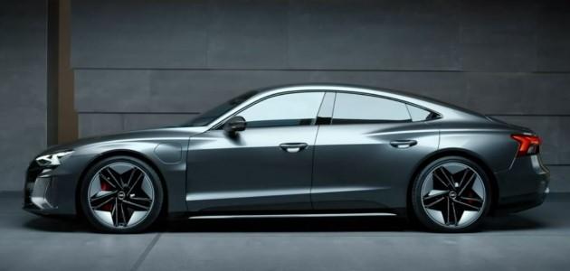 Audi e-tron gt seitlich
