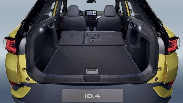 Volkswagen ID.4 gelb kofferraum laderaum laderaumvolumen