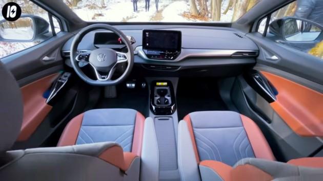 Volkswagen ID.4 innenraum sitze cockpit display