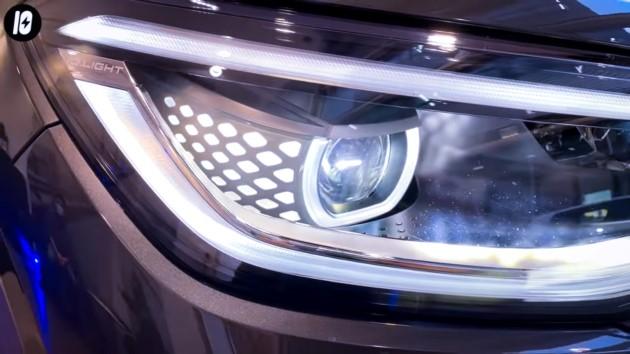 Volkswagen ID.4 scheinwerfer matrix licht led
