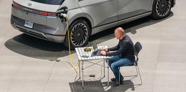 Hyundai-IONIQ-5-power-outlet-vehicle-to-power